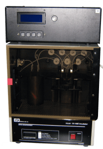 Full view of cell culture automation equipment