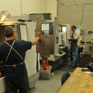 Onsite CNC machine resources