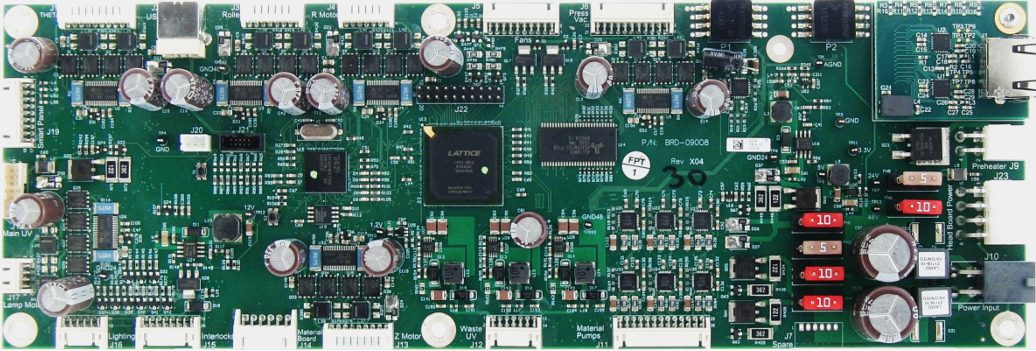 Microcontroller and FPGA system board